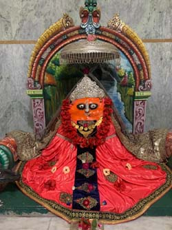 देऊरगांव मां महामाया मंदिर में भी इस बार एकल ज्योति प्रज्जवलित