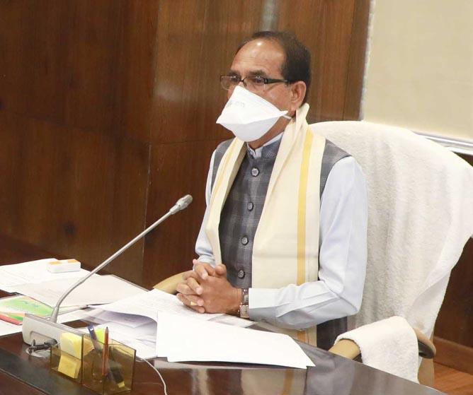 कोरोना कर्फ्यू के दौरान भी जारी रहेगा उपार्जन कार्य: मुख्यमंत्री चौहान