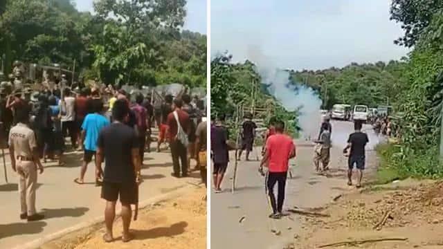 असम-मिजोरम के बीच विवाद,झड़प में 6 जवान शहीद