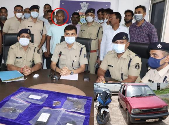 नेवई फायरिंग घटना का मुख्य आरोपी मुकुल सोना उर्फ सोनू बिहार नालंदा से गिरफ्तार