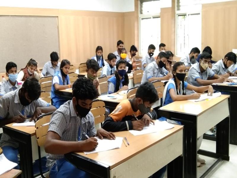 प्रदेश में शासकीय विद्यालयों में नौवीं से बारहवीं की तिमाही परीक्षा में 95 फीसद विद्यार्थी शामिल