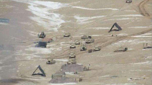 चीन ने LAC के पास बढ़ाई तैनाती, बड़ी संख्या में UAV,फाइटर जेट और टैंक मुस्तैद